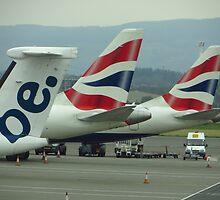 Be British ! Glasgow Airport by wiggyofipswich