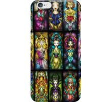 disney princesses iPhone Case/Skin