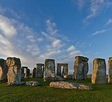Dawn Light- Stonehenge by Quattrophoto