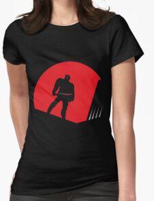 Jason Takes Gotham City Womens Fitted T-Shirt