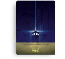 The Doctor's TARDIS Canvas Print