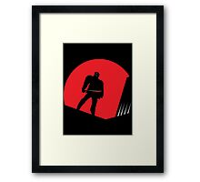 Jason Takes Gotham City Framed Print