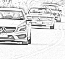Mercedes-Benz Driving Sticker