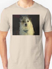 Portrait Of A Terrier Unisex T-Shirt