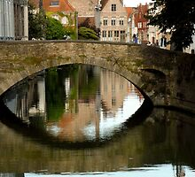 Brugge Means Bridge by UrsulaRodgers