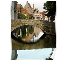 Brugge Means Bridge Poster