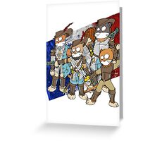 Mousquetaires Greeting Card