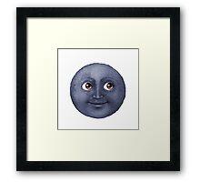 Molester Moon Framed Print