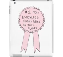 #1 Most Awkward Human Being On This Planet iPad Case/Skin
