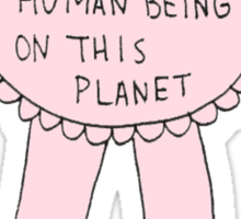 #1 Most Awkward Human Being On This Planet Sticker