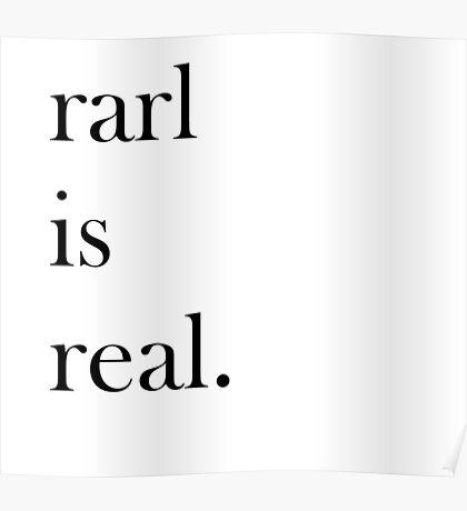 rarl is real  Poster