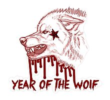 The Game - Blood Money La Familia - Year of the Wolf Photographic Print