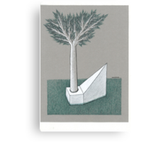 Axe and handle Canvas Print