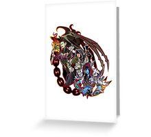 Bad Blizzard Girls (fullcolor) Greeting Card