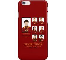 Gryffindor Quidditch Team 1991-1994 iPhone Case/Skin