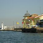 The Seaport  Of İzmir by Ercan BAYSAL