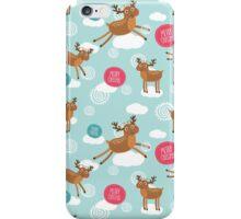 Christmas Deer iPhone Case/Skin