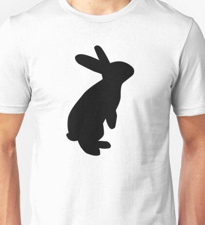 Black bunny Unisex T-Shirt