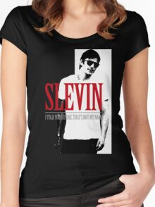 Lucky Scarface Slevin Women's Fitted Scoop T-Shirt