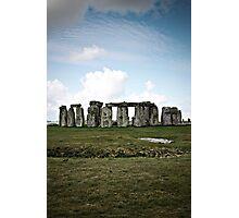 Stone Henge Photographic Print