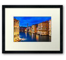 VENICE 01 Framed Print