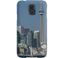 Up Close and Personal - CN Tower, Toronto Harbor and the City Skyline From a Boat Samsung Galaxy Case/Skin