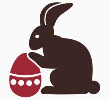 Easter bunny egg Baby Tee