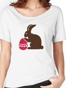 Easter bunny egg Women's Relaxed Fit T-Shirt