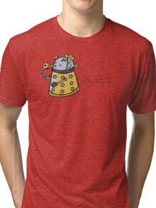 fish dalek Tri-blend T-Shirt
