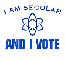 Secular Vote Photographic Print