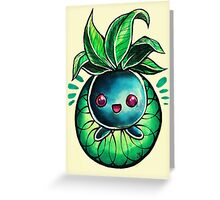 Oddish Greeting Card