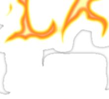 I am Fire I am Death Sticker
