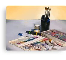 Art Tools of the Trade Canvas Print