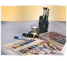 Art Tools of the Trade Poster