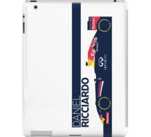 2014 Formula 1 RedBull Daniel Ricciardo Race Car iPad Case/Skin
