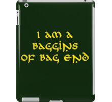 Baggins iPad Case/Skin