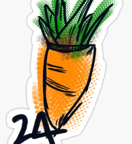 24 CARROT  Sticker