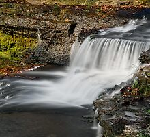 Indiana's Clinton Falls by Kenneth Keifer