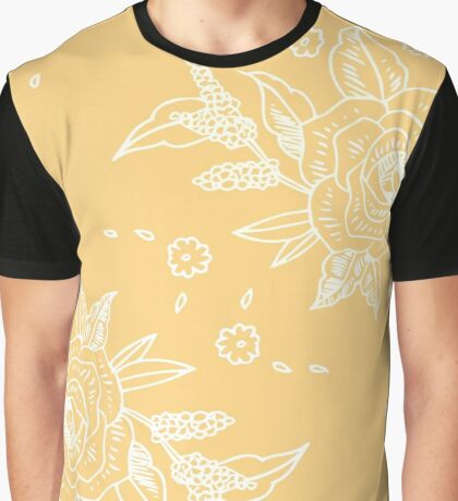 Yellow in Bloom  Graphic T-Shirt