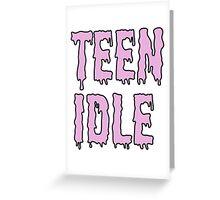 teen idle Greeting Card