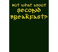 Second Breakfast Photographic Print