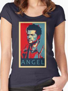 Castiel Women's Fitted Scoop T-Shirt