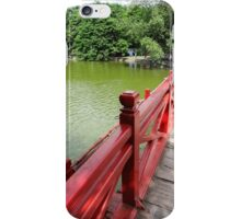 Follow the red  iPhone Case/Skin