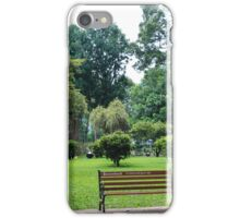 finding peace in the city  iPhone Case/Skin