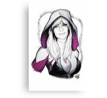 Spider-verse Spider-Woman Canvas Print