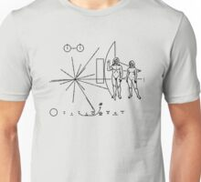 We Come in Peace - A Hippy Message to Alien Civilizations Unisex T-Shirt