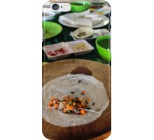 traditional Vietnamese food iPhone Case/Skin