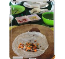 traditional Vietnamese food iPad Case/Skin