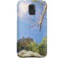 Reflection in a mountain stream Samsung Galaxy Case/Skin