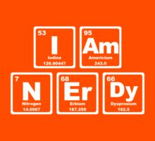 I Am Nerdy - Periodic Table Kids Clothes